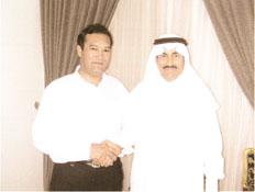 公司总裁与沙特内政部副部长亲切会见
